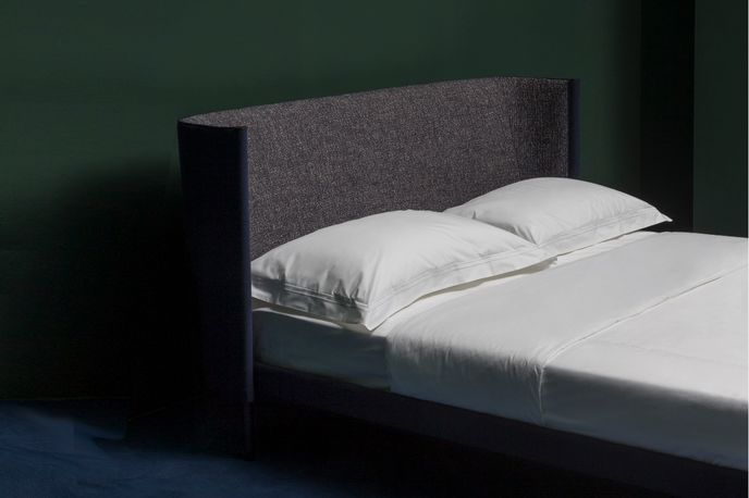 Bed by Gam Fratesi and Hay at Wallpaper* Handmade, Milan