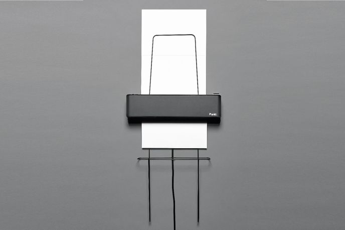 Wall Printer by Nadine Schaub for ECAL and Punkt collaboration, Milan