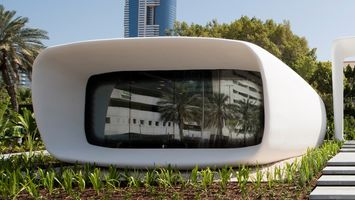 Dubai's future buildings will be 3D-printed