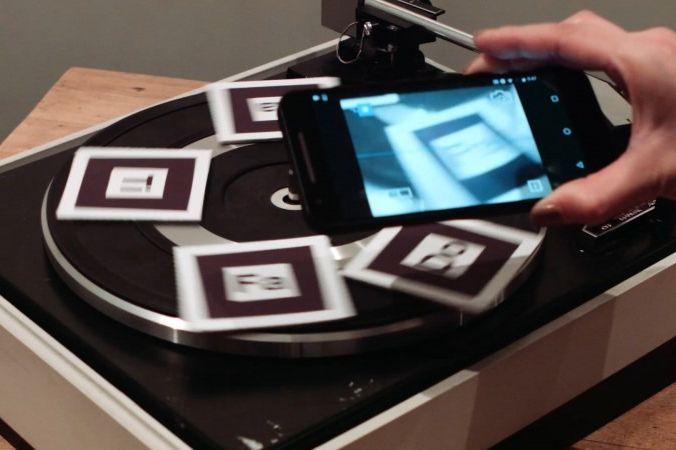 The AR Music Kit by Yuri Suzuki, London