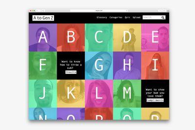 AtoGenZ.com by McCann Worldwide, London