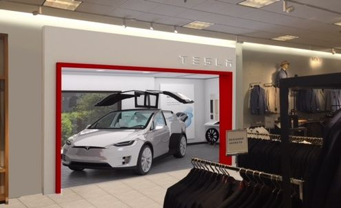 Small-scale showrooms