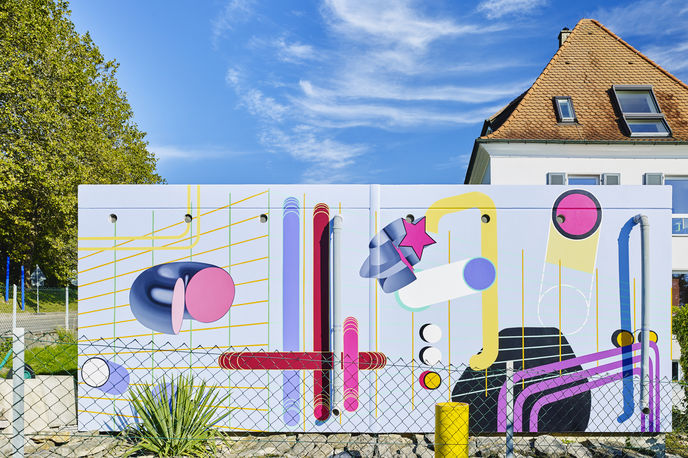 24 Stops by Tobias Rehberger by Fondation Beyeler and Vitra, Switzerland and Germany