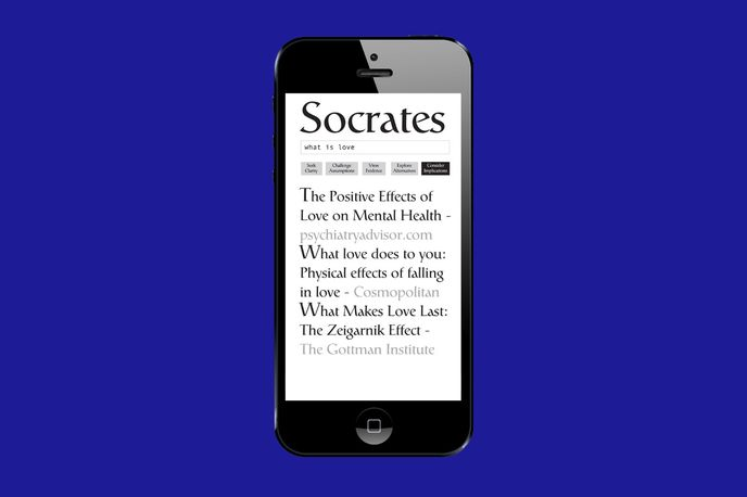 Socratic Search by Ted Hunt, London