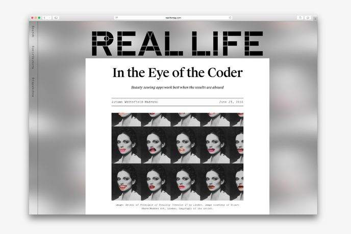 Real Life magazine by Snapchat, Global