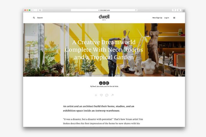 Dwell.com, Global