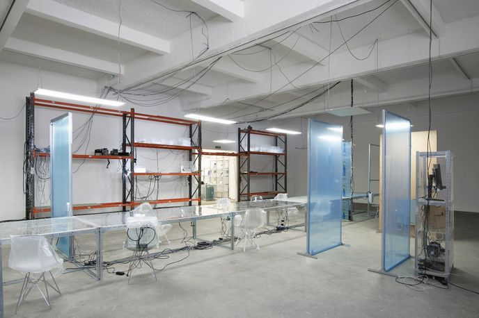 User, Space by Yuri Pattison at Chisenhale Gallery, London