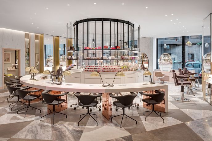 Harvey Nichols Beauty Lounge, London