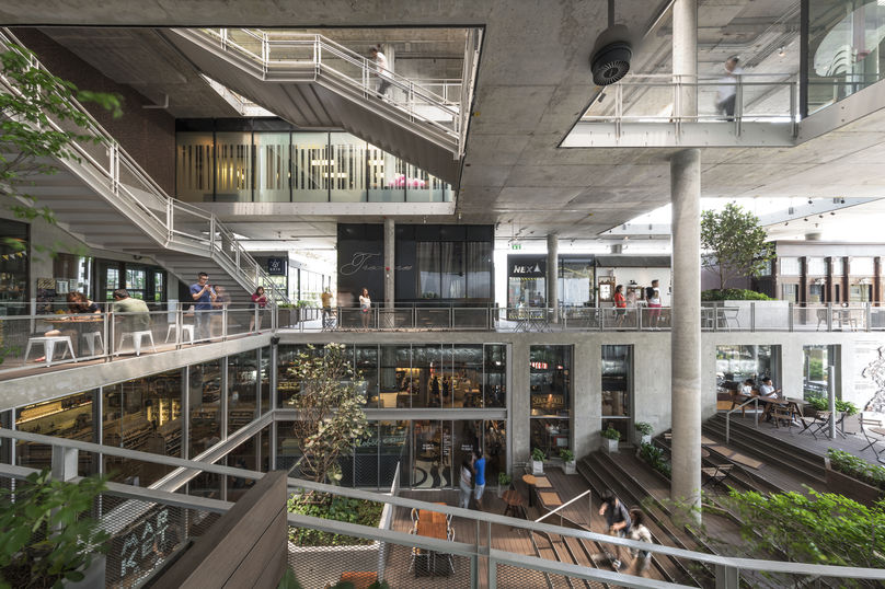 The Commons, Bangkok, has been specifically designed to foster a sense of community.
