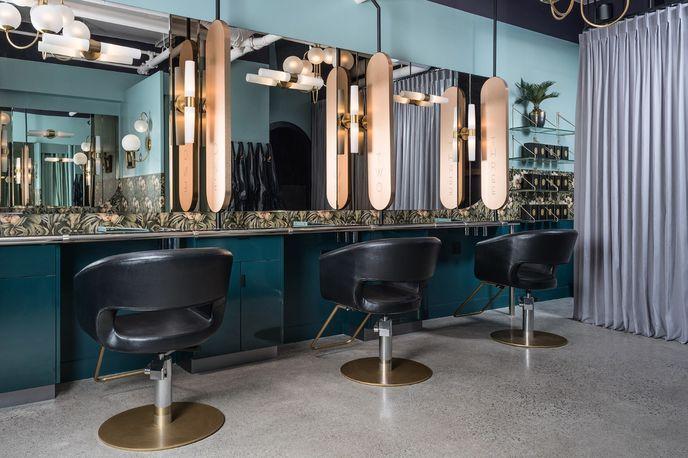 The Glamoury beauty salon, Vancouver