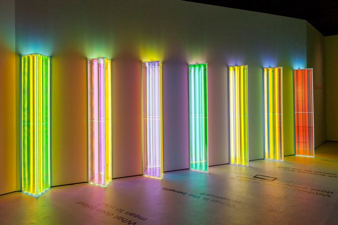 Our Spectral Vision by Liz West at The Natural History Museum, London