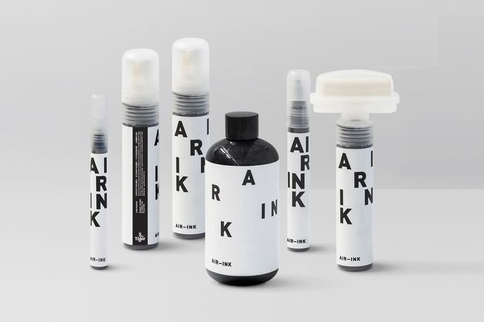 Air Ink by Graviky and Tiger Beer, Hong Kong