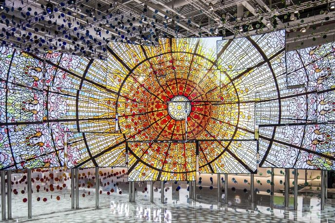 The Origin of Quantum Dot by Andreas Nicolas Fischer and Samsung at IFA Berlin 2016, Germany