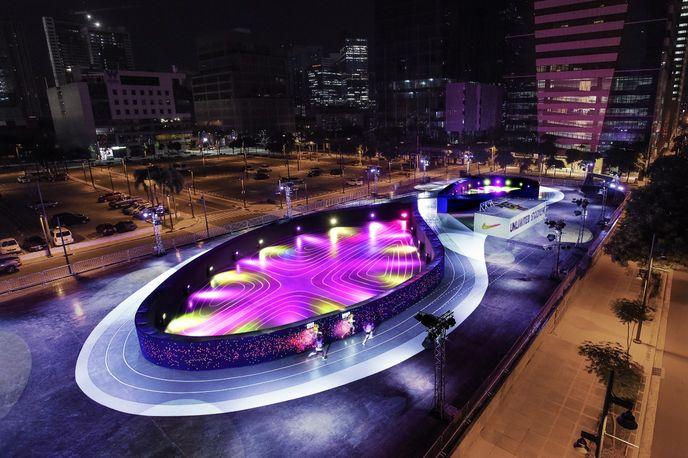 Nike Unlimited Stadium by BBH Singapore, Manila