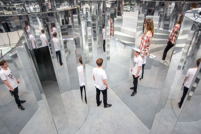 The Fifth Sense by Chanel and  i-D magazine, London
