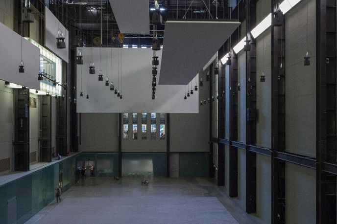 Hyundai Commission 2016, Anywhen by Philippe Parreno at The Tate Turbine Hall, London