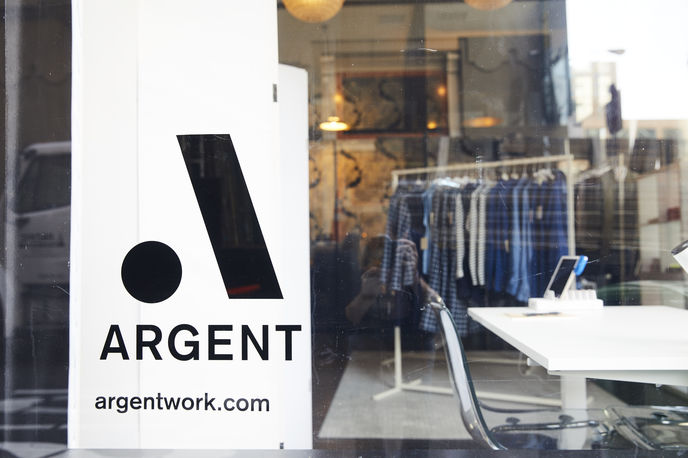Argent and WeWork retail space, San Francisco