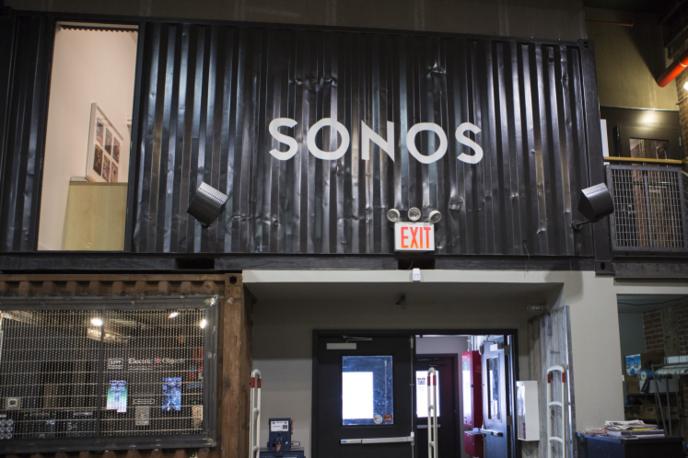 Sonos Listening Room in Rough Trade, New York