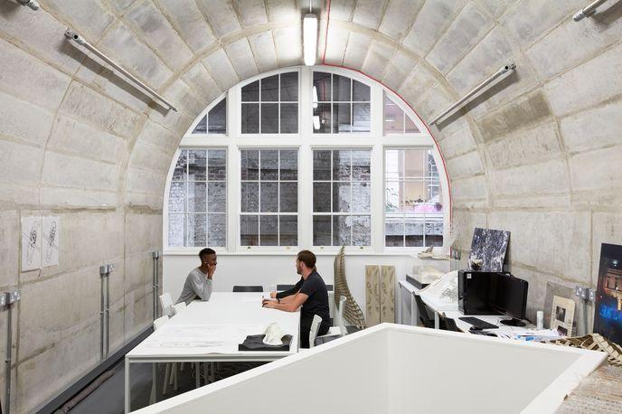 Vault, Somerset House Studios, Image by Luke Walker