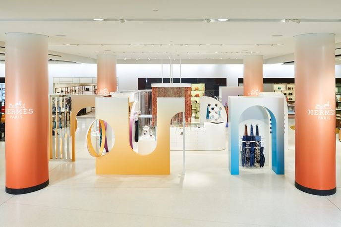 Hermés at Nordstrom by StoreyStudio, Seattle