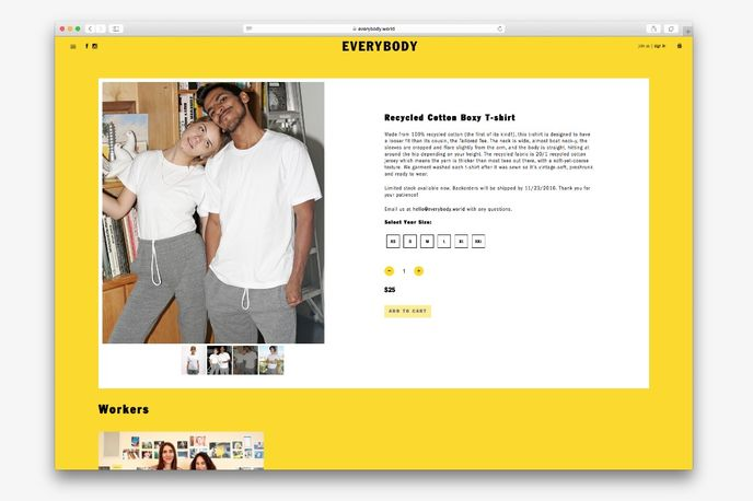 Everybody website, US
