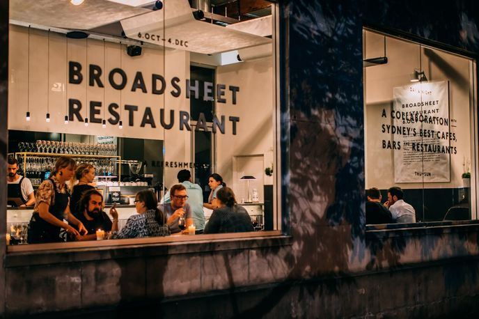 Broadsheet Restaurant, Australia. Photography by Nikki To