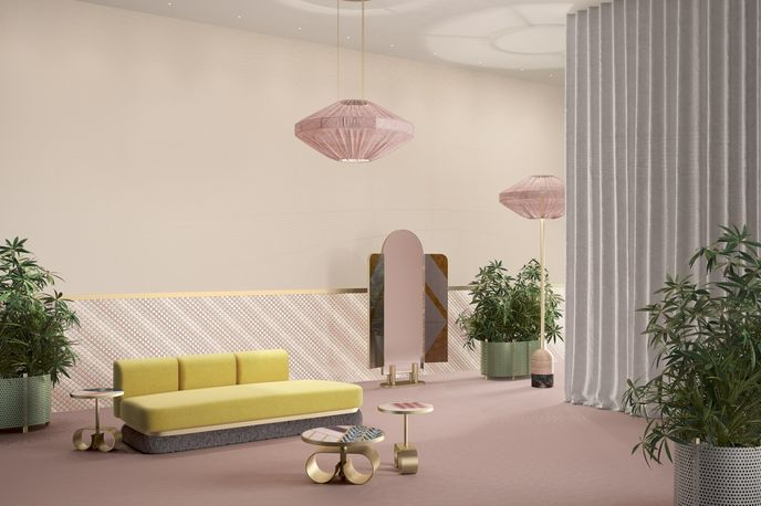 Render of The Fendi Happy Room by Cristina Celestino, Miami