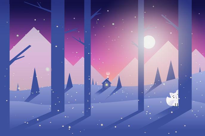 The Snow Fox by AKQA
