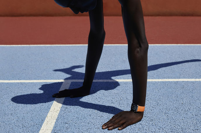 Free Hands, Apple Watch Hermès. Photography by Vivianne Sassen