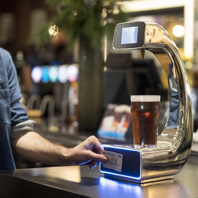 Barclaycard Pay@Pump at Henry's Café Bar, London