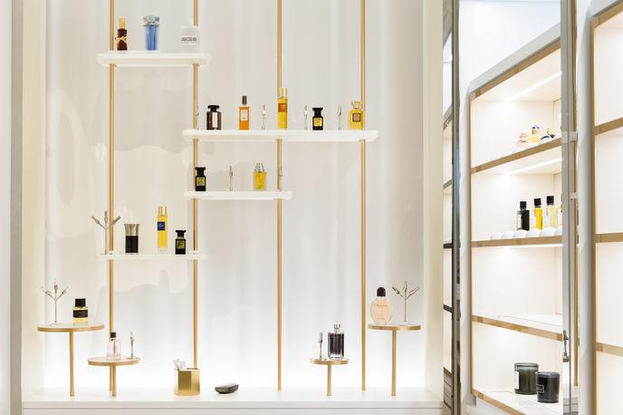 Le Grand Musée du Parfum, Paris. Photography by Irène de Rosen