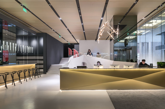 inSports by Powerhouse Company, Beijing. Photography by Wu Qingshan