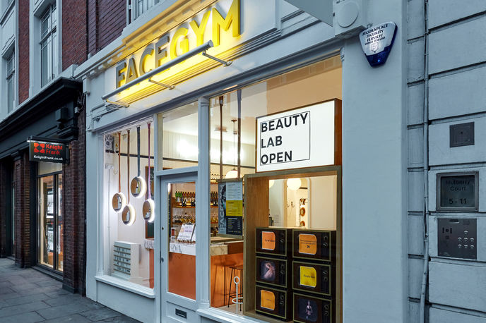 FaceGym by Prop Studios, London