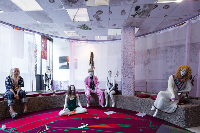 The Casual Pleasure of Disappointment by Bjarne Melgaard and Babak Radboy, New York