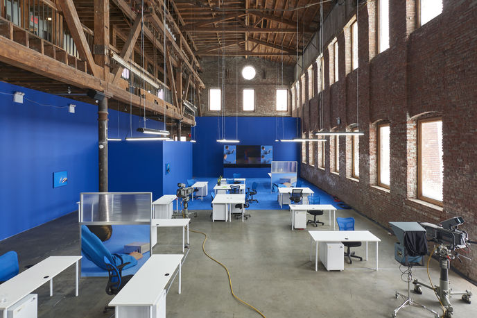 Work by ESP TV and Pioneer Works, New York. Photography by Andrew Romer