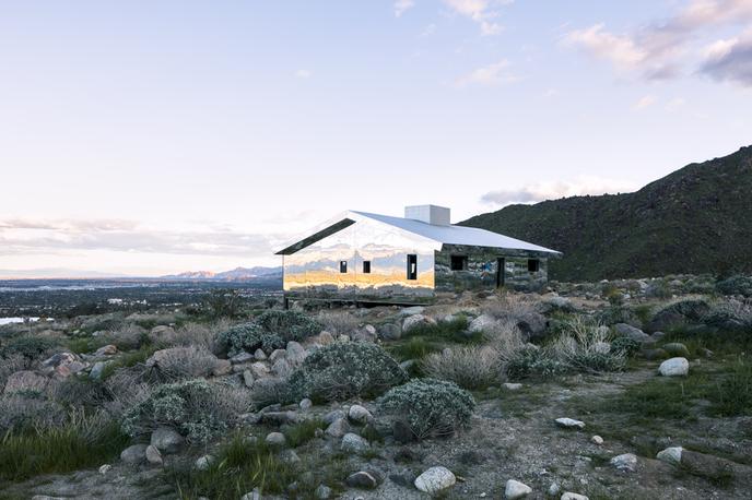 Mirage by Doug Aitken for Desert X, California. Photography by Lance Gerber