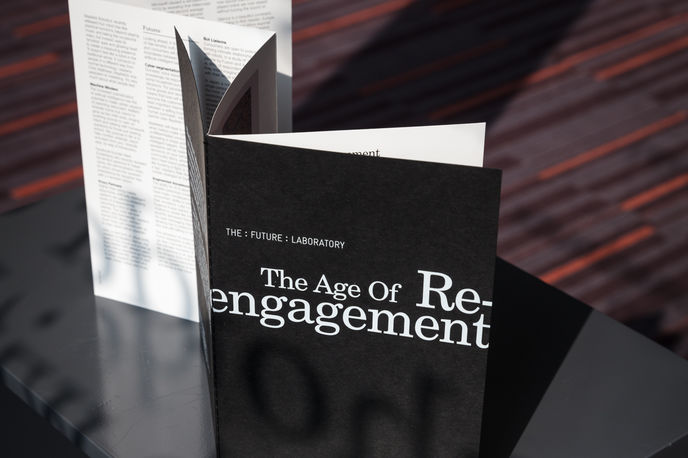 The Age of Re-engagement Trend Briefing at Milton Court, London