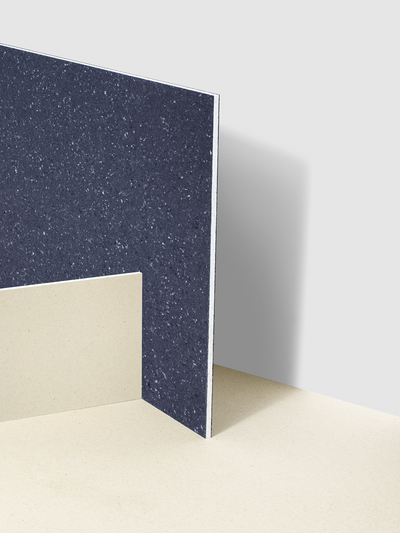 Solid Textile Board tiles by Kvadrat and Really, Milan