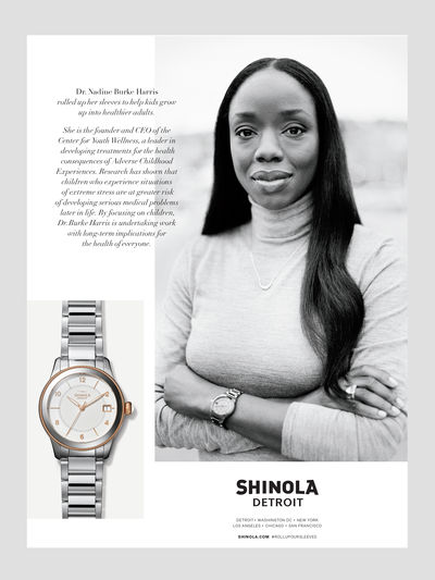 Let's Roll Up Our Sleeves by Shinola, US