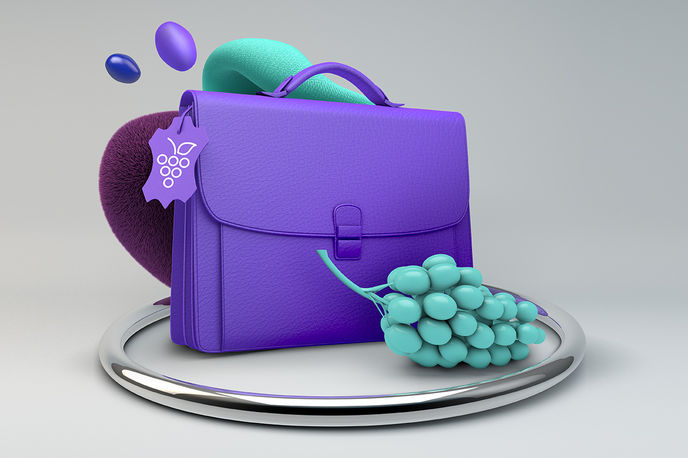 Grape Leather by the Global Change Award and H&M Foundation, Global