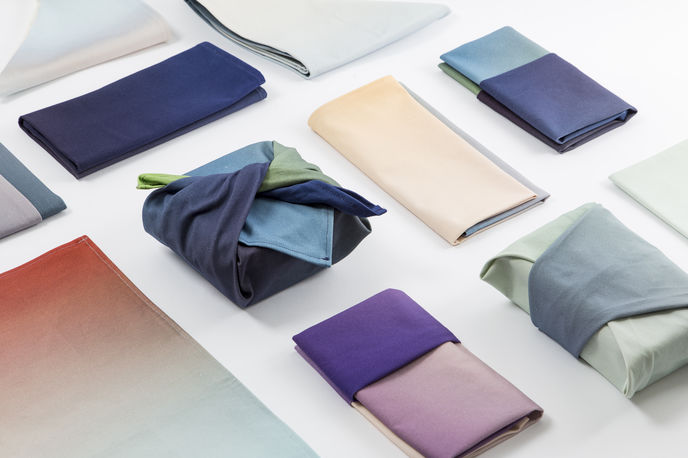 Hues Textiles by Rive Roshan for Age of Man, Milan
