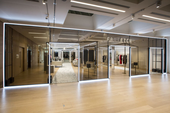 Store of the Future by Farfetch, London