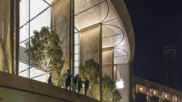 Apple opens a store inspired by Emirati culture