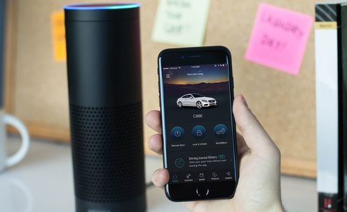 Mercedes-Benz now connects to Amazon Echo and Google Home