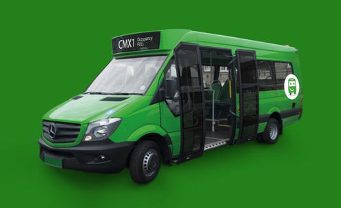 Citymapper launches a pop-up bus service