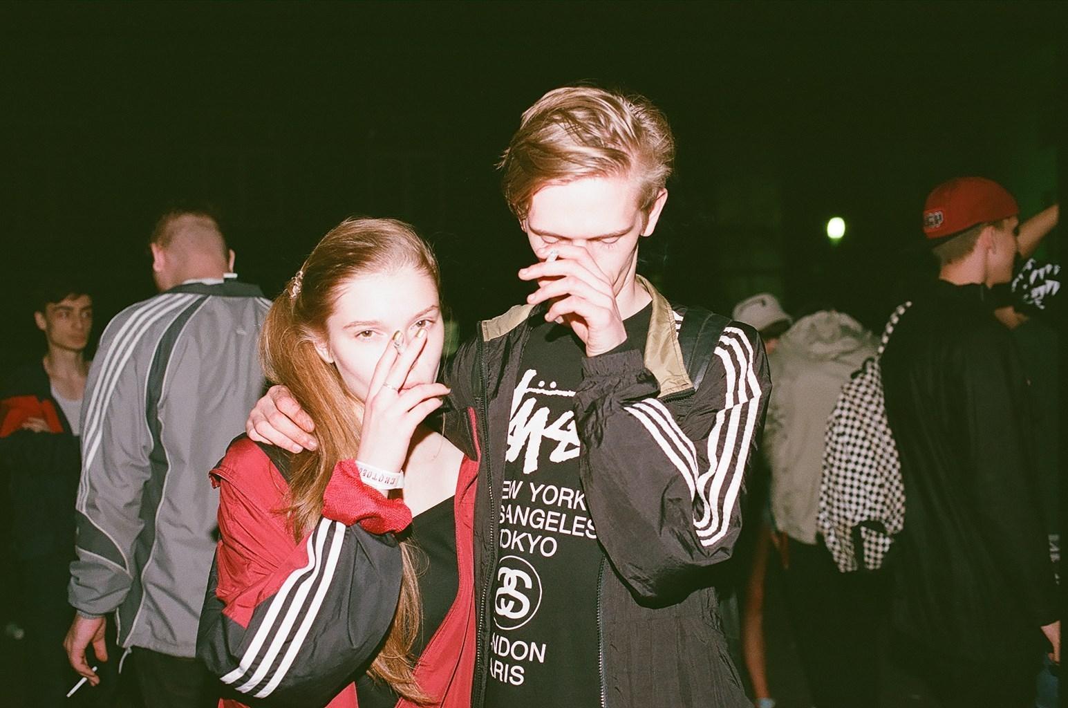 Russian teen girls student sex party
