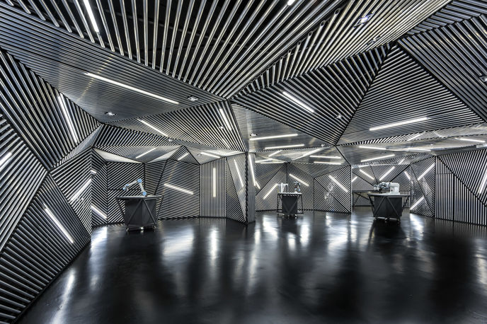 RACE Robotics Lab by Ministry of Design, Singapore