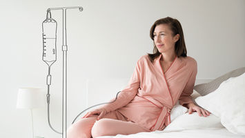 Inga Wellbeing designs stylish hospital clothing