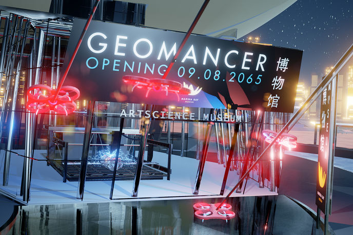 Geomancer by Lawrence Lek, UK