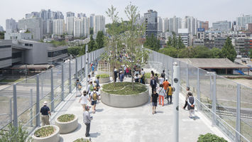 Sky garden in Seoul raises retail to new heights